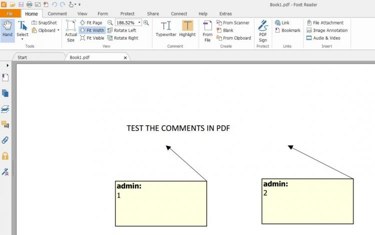 pdf file was exported from excel file (follow the guide)